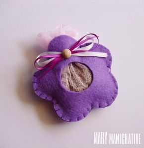 Mary mani creative: Fiori profumabiancheria