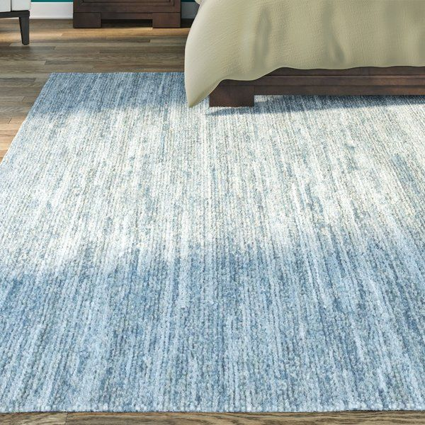 Hubbard Rescued Light Blue Dark Blue Gray Area Rug Reviews Allmodern With Images Blue Gray Area Rug Area Rugs Grey Area Rug