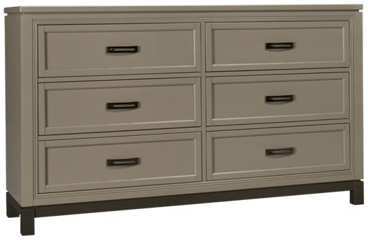 Aspen-Hyde Park-Aspen Hyde Park 6 Drawer Dresser - Jordan's Furniture