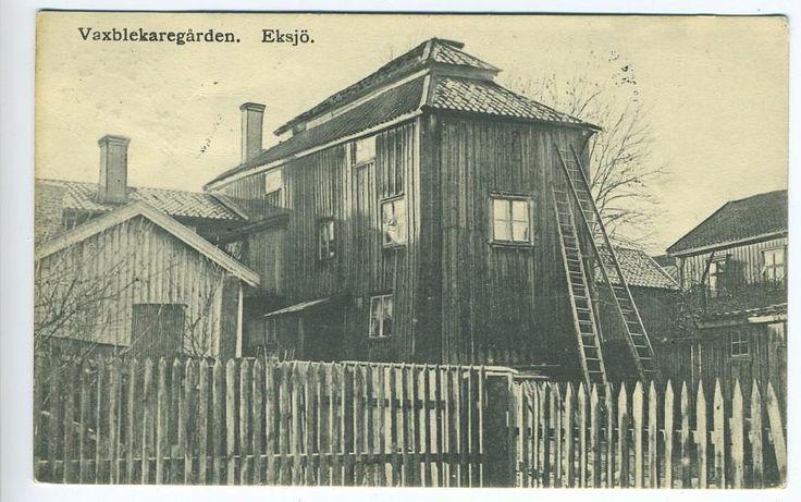 EKSJÖ VAXBLEKAREGÅRDEN KV 9 1907
