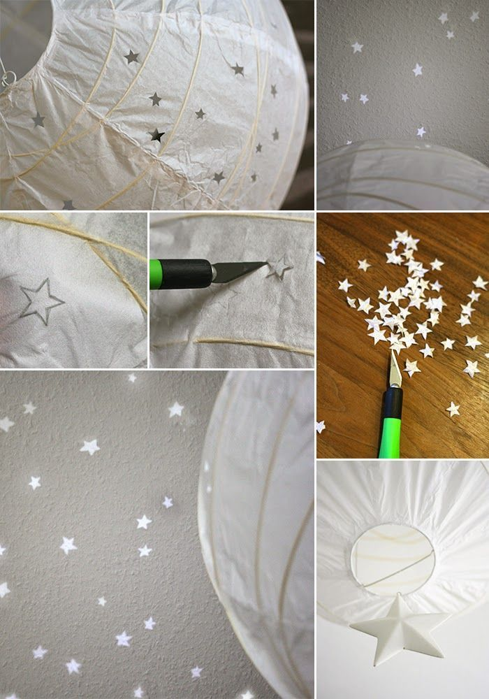 Gingered Things - DIY, Deko & Wohndesign: Sternenlampe