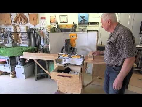 Plans:http://carlholmgrenwoodworking.com/product/miter-saw-stand-plans/ Website: http://carlholmgrenwoodworking.com/ Here is a very compact stand for a miter...