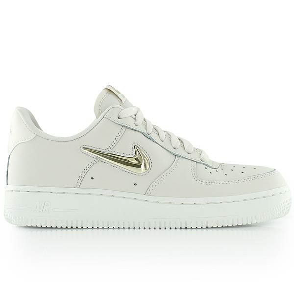 nike WMNS AIR FORCE 1 '07 PRM LX PHANTOMMTLC GOLD STAR