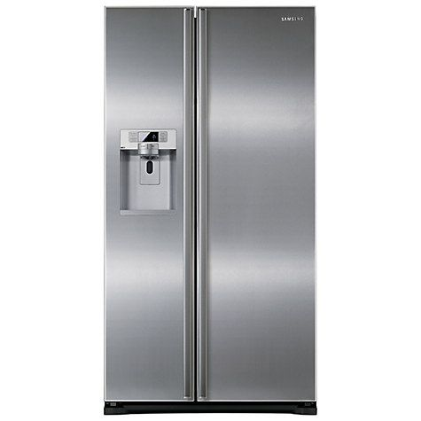 Buy Samsung RSG5UURS American Style Fridge Freezer, Silver Online at johnlewis.com