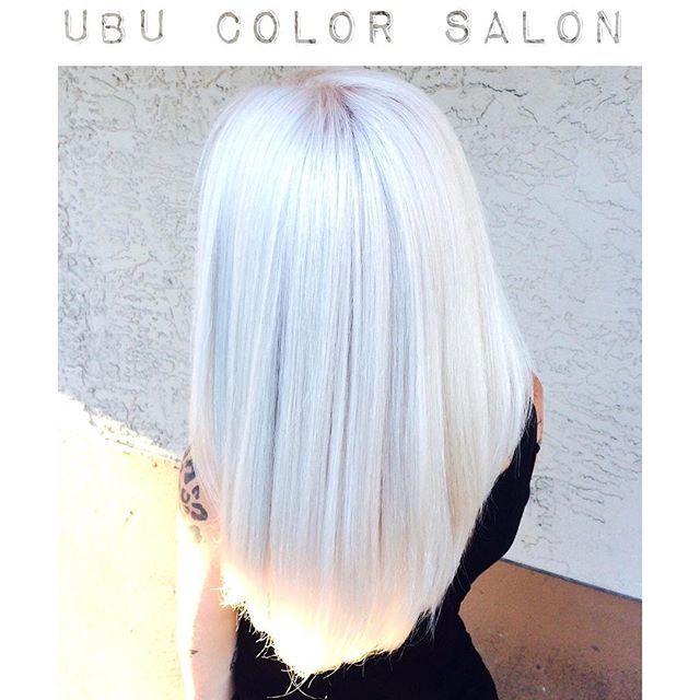 white hair highlights