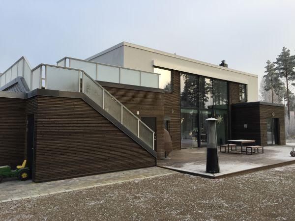 Bilderesultat for tilbygg med terrasse over