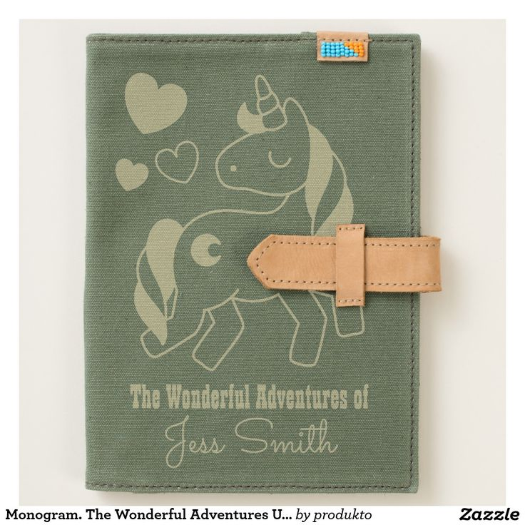 Monogram. The Wonderful Adventures Unicorn. Journal