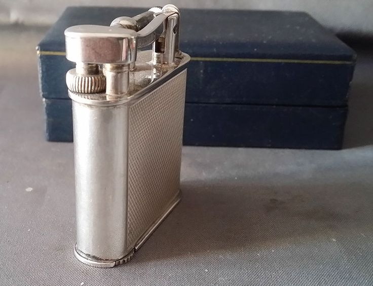Vintage Lighter DUNHILL Gas Sterling silver & box Briquet Gaz argent Feuerzeug   eBay