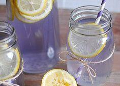 Lavendel als Limonade gegen Kopfschmerzen und Anspannung
