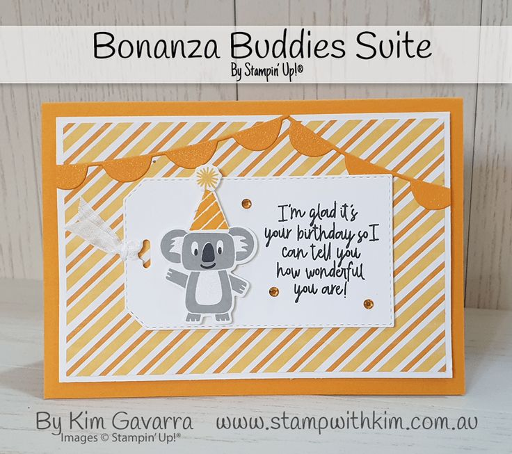Bonanza Buddies Stampin' Up! Australia in 2020 Kids
