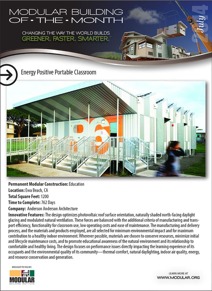 Modular Classroom Portland Oregon ~ Best images about modular building of the month on