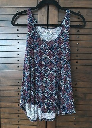 Buy my item on #vinted http://www.vinted.com/womens-clothing/sleeveless-and-tank-tops/22070856-tribal-print-muscle-tank-from-mudd