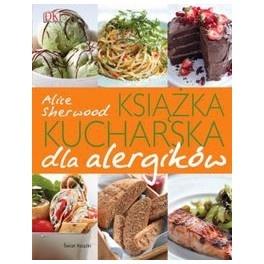 """""""Książka kucharska dla alergików"""" - Alice Sherwood    A oto w punktach, co znajduje się w tej książce:  - informacje na temat kuchni świata i występujących tam alergenach,  - jak czytać etykiety produktów i jak robić zakupy pod kątem alergika,  - wiele sprawdzonych przepisów podzielone na grupy według najczęściej spotykanych alergii: bez orzechów, bez jajek, bez glutenu, bez mleka (przy każdym przepisie znajdują się stosowne piktogramy),  - piękne fotografie dań."""