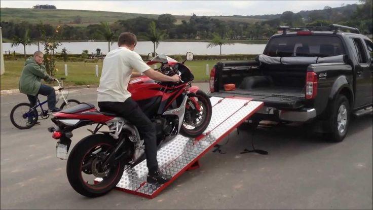 Rampa para moto - Rampa de moto para caminhonete MotoRamp MR-02
