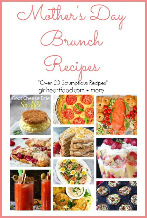 Mothers Day Brunch Recipes Breakfast Brunch Recipes Pinterest