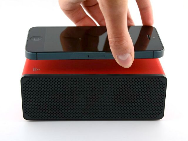 With Advanced Amplifying Sound Technology, no need for Pairing or a WiFi connection. Simply place your Phone on top and the Drop N Play Wireless Speaker will do the rest. GetdatGadget.com/drop-n-play-wireless-speaker-requires-bluetooth-wifi/