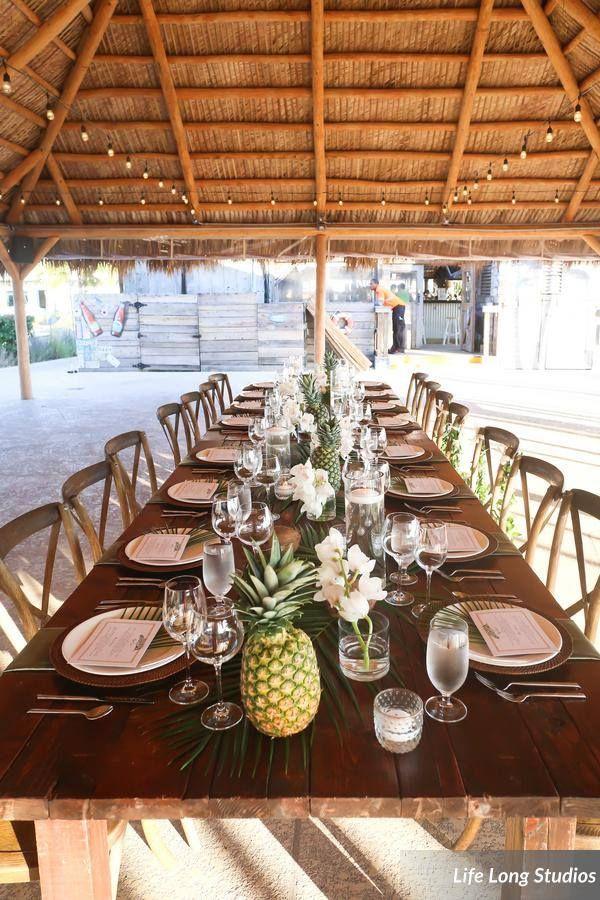 Postcard Inn, St Pete Beach FL, Tropical Beach Wedding, Boho Wedding, Tropical Centerpieces, Feasting Table, Lifelong Studios Photography, Iza's Flowers