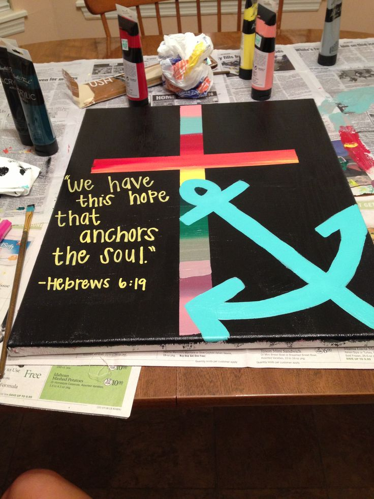 The Lord is our anchor
