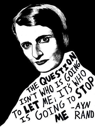 Ryan Sheffield: Inspirational Women of Writing. Ayn Rand #internationalwomensday #evetorres