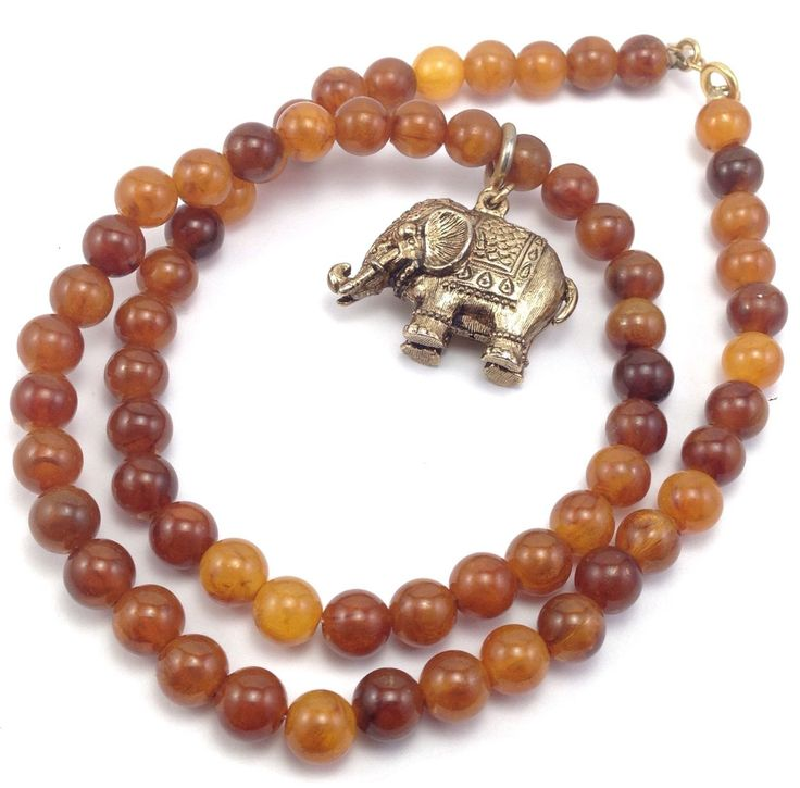 40 best sarah coventry images on pinterest coventry antique vintage signed sarah coventry amber bead gold tone elephant necklace pendant aloadofball Images