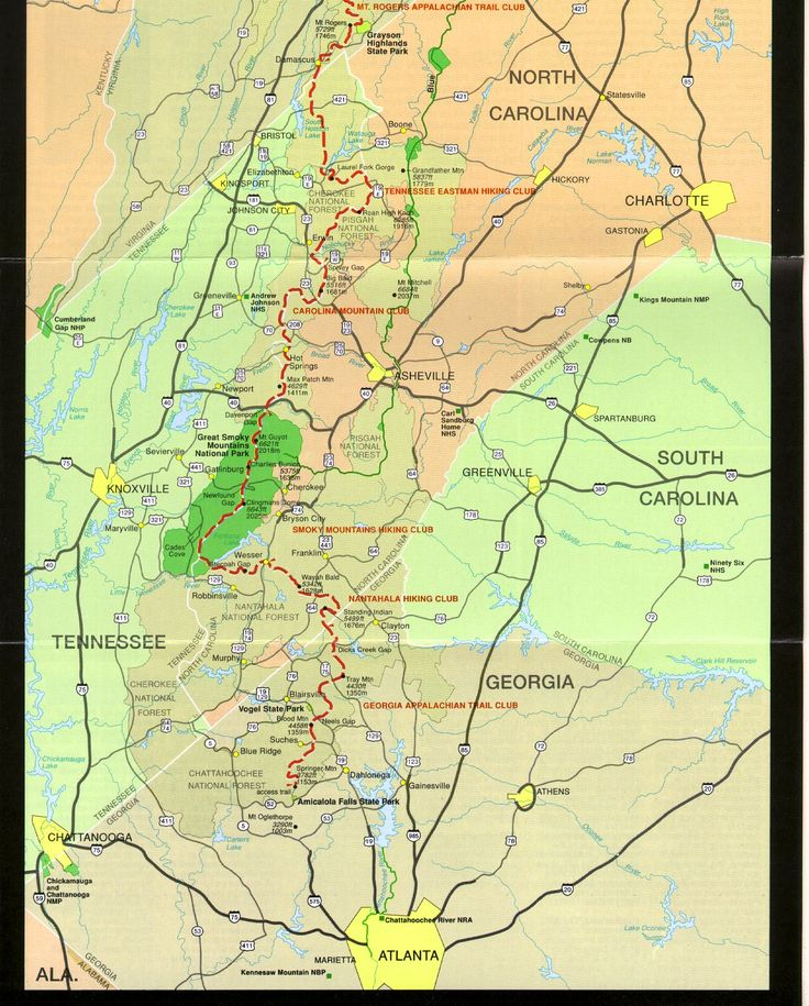 Best Backpacking Trail Maps And Routes Images On Pinterest - At trail map