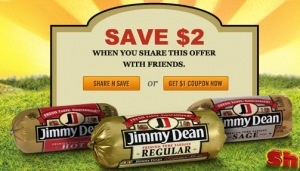 Update: Darn! Looks like the Target coupon is actually a manufacturer's coupon so it can't be stacked. Sorry for the confusion! Here is a great coupon for Jimmy Dean Sausage Rolls! Just head on over here to print a new $2/2 Jimmy Dean Roll Sausage (16oz) coupon when you share with friends via email, Facebook, [...]