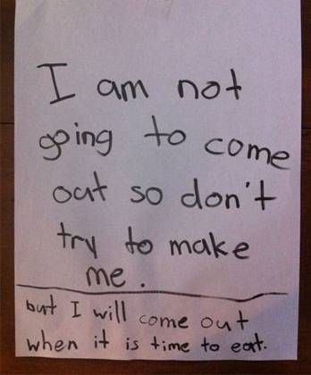 Hilarious Notes By Kids That Will Have You Laughing Out Loud
