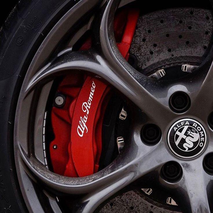 The one and only, Alfa Romeo Giulia Quadrifoglio.   #AlfaRomeo #Alfa #Giulia #NewGiulia #Quadrifoglio #car #carpic #instacar #carsofinstagram #drive #alfared #speed #fullthrottle #design #technology #style #alfisti #sixthsense #passion #alfapassion