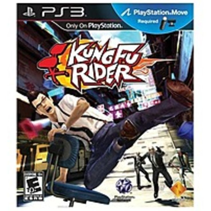 Sony 711719827023 Kung Fu Rider - Move for PlayStation 3