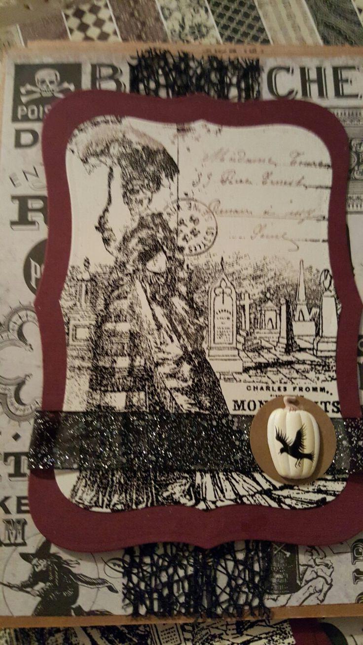 Halloween card #4