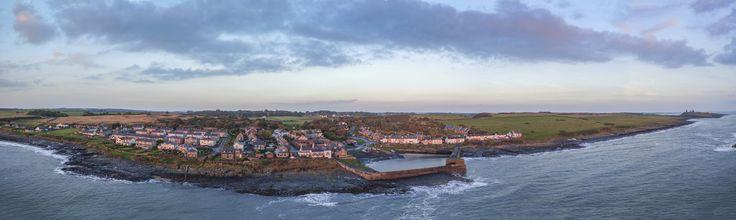 https://flic.kr/p/zHgPw2 | Sunlit Harbour | Craster Panorama