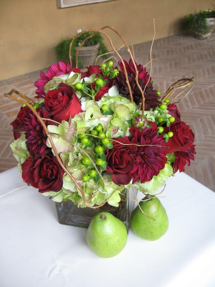 Best fresh fruity floral arrangements images on