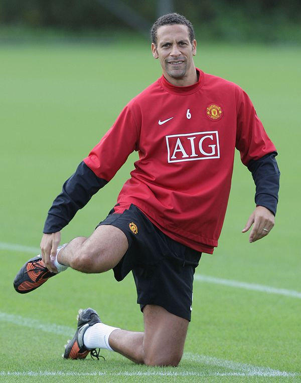 Ferdinand surprised Sir Alex with his recovery from knee ligament damage.