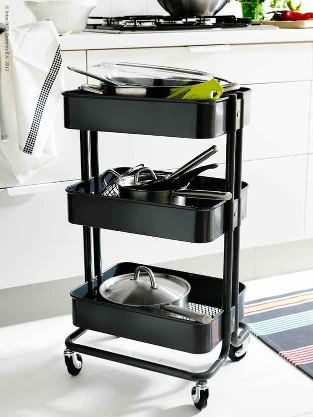 This Kitchen Cart Is The Only Ikea Item You Really Need ...