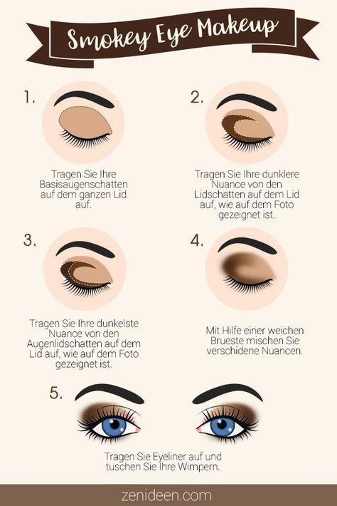 Eine Smokey Eyes Anleitung Für Anfänger Make Up
