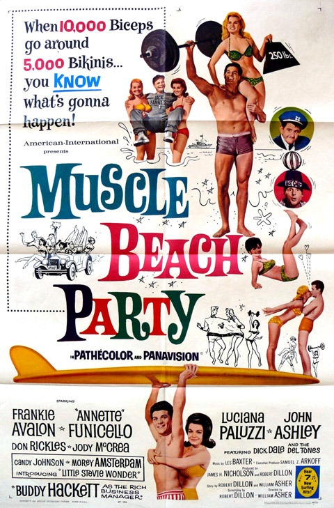 Muscle Beach Party 1964...
