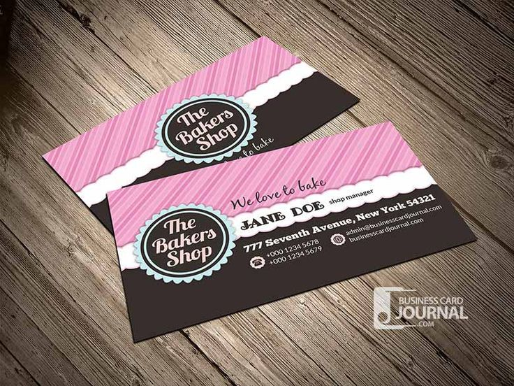 The 25 best bakery business cards ideas on pinterest bakery bakery business cards templates free download at businesscardjournal reheart Choice Image