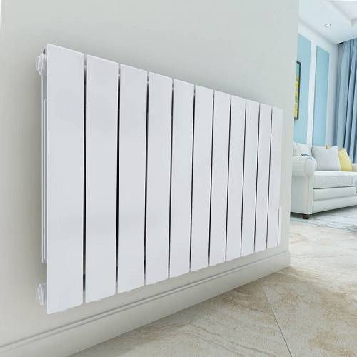 Warmehaus Bismo 577 X 937mm White Wall Mounted 1800w Oil Filled