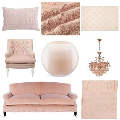 When it Comes to Feminine Elegance There's No Better Color Than Blush Pink: Blush Pink Home Decor