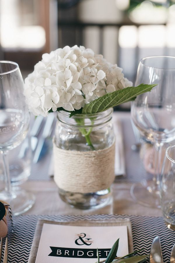 10 best summer garden party images on pinterest weddings for Black table centrepieces