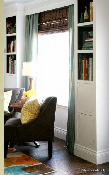 Build A Wall-to-Wall Built-In Desk and Bookcase