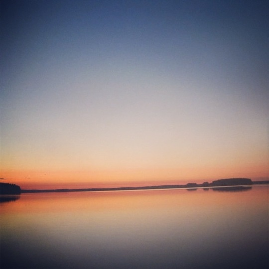 Silence. In Pohjois-Karjala, Finland.