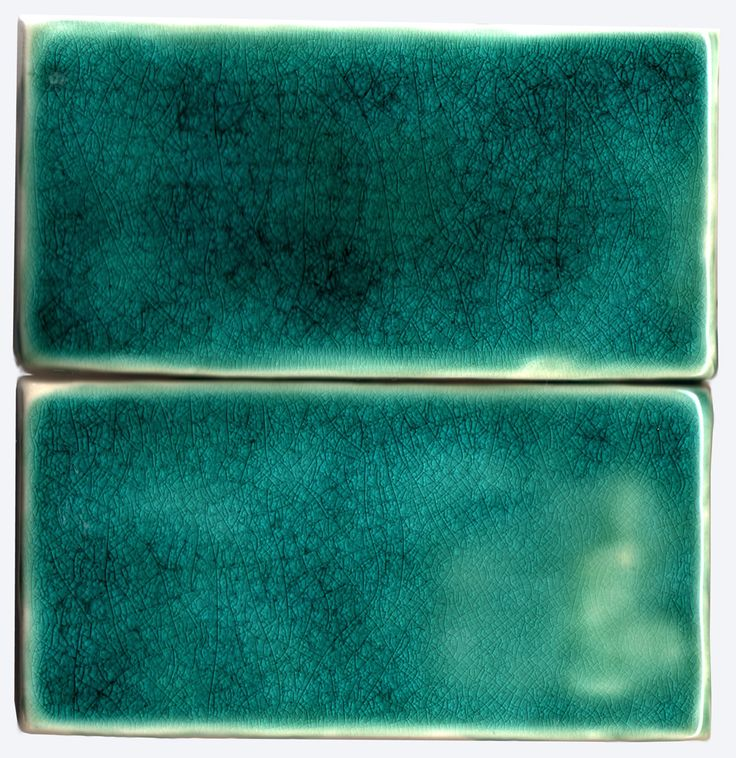 Decoration Ideas : Handmade Tile Hand Made Subway Tile With Turquoise Crackle Glaze