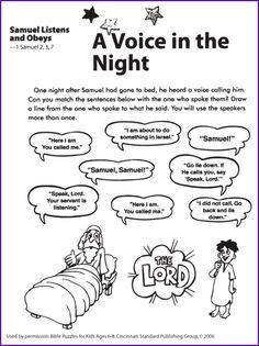 21 best images about Samuel Coloring Pages on Pinterest  Sunday