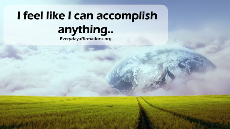 Daily Affirmations 16 October 2016