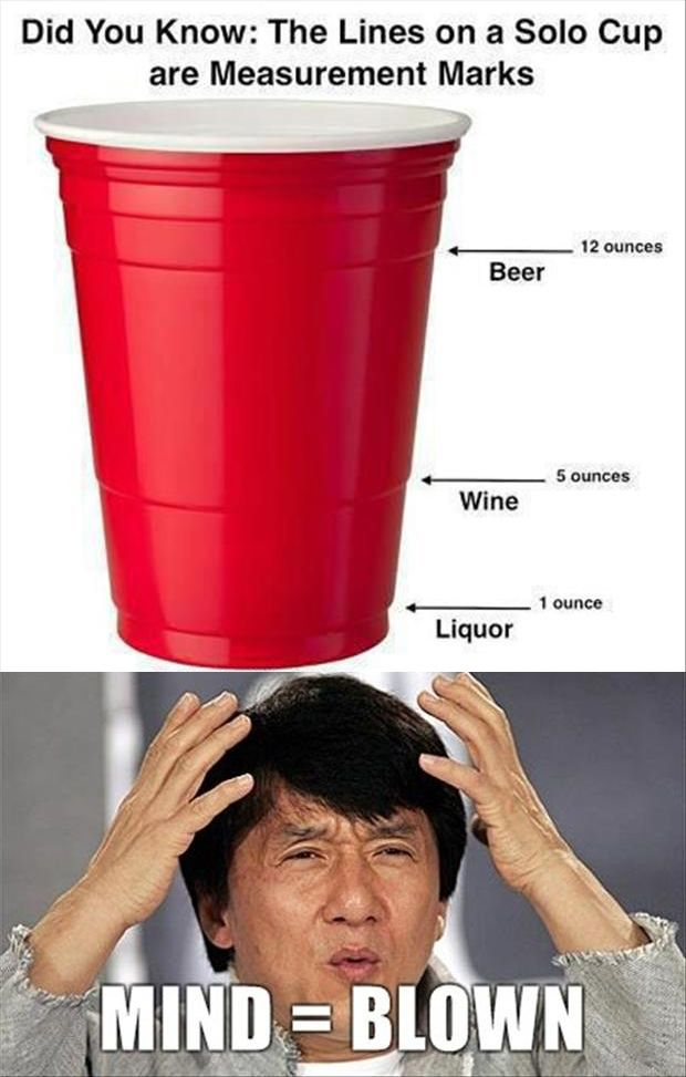 "Best Of, ""Mind Blown"" Meme – 22 Pics. Too bad I didn't know this college, the liquor always got poured to the wine line"