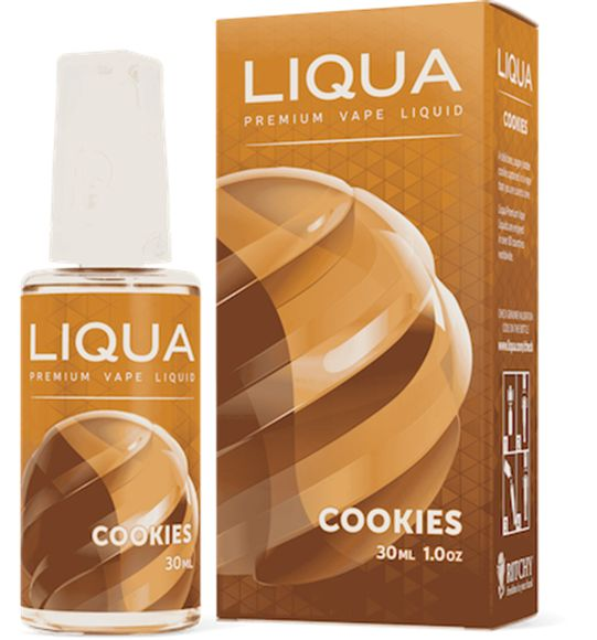 Buy Liqua eLiquid - Cookies 30ml online Australia, Perth, Melbourne. FREE delivery DISCOUNT call 0490451561. Trusted store in Melbourne and stock wide range of products.