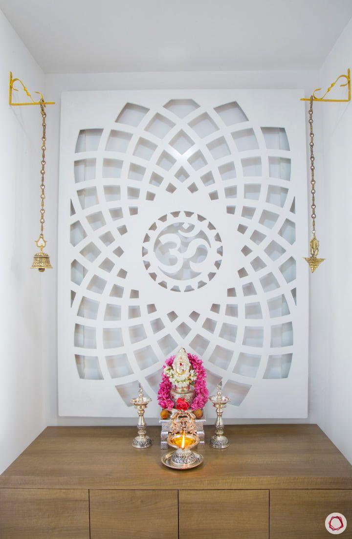 pooja corner unit door puja nook living elegant into partition rooms bells livspace mandir interior