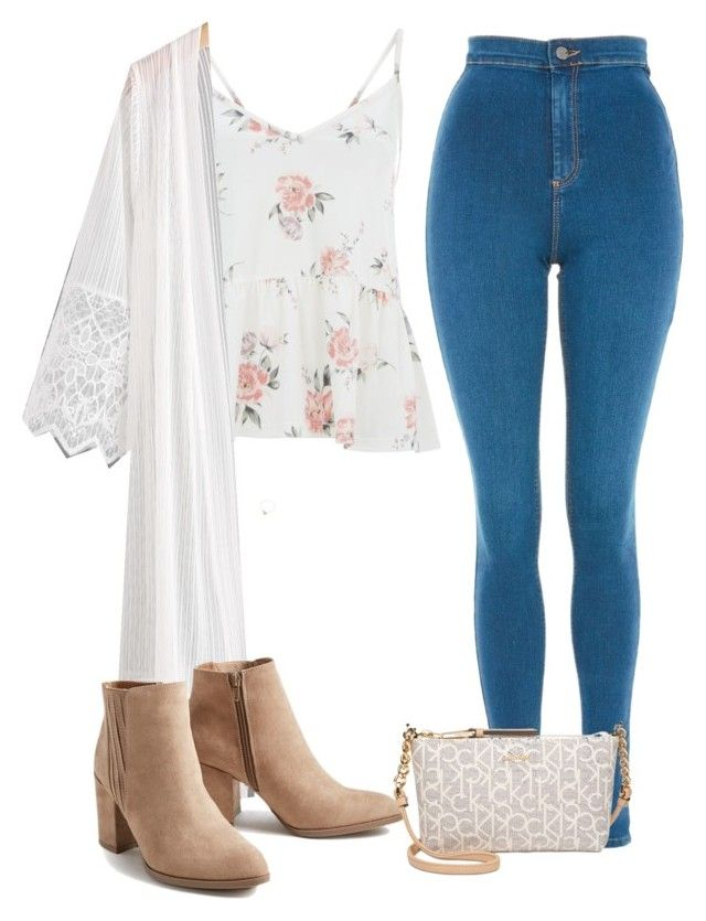"""Untitled #1161"" by bellax01 on Polyvore featuring Topshop, Ten79LA and Calvin Klein"