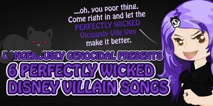 Disney is well known for the songs in their animated movies. Although most of them are made for the heroes and heroines, every now and then a villain is given a wonderfully wicked song of their own. Here are 6 perfectly wicked Disney villain songs that took them from good to great. #niume #disney #villains